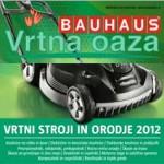 Bauhaus – katalog Vrtni stroji in orodje 2012