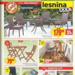 Lesnina – Ponudba vrtnega pohištva v centru Levec in Hoče