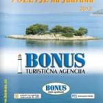 Turistična agencija Bonus katalog